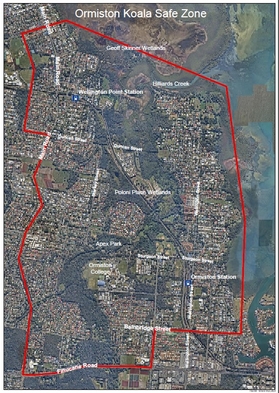 Ormiston Koala SafeNeighbourhood Map