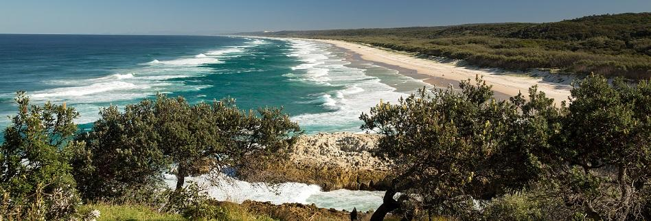 North Stradbroke Island beach